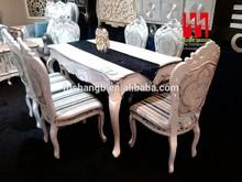 Clássico de madeira sala de jantar conjuntos de nova chegada conjuntos de de jantar