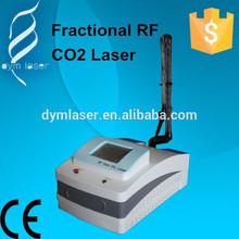 Ce médico máquina co2 fraccional láser para retiro de la arruga y acné cicatrizal eliminación