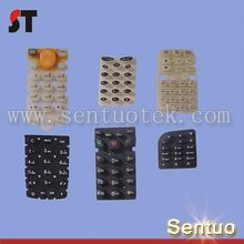 Silicone press button for remote controller