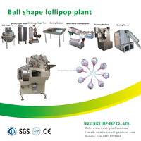 Different size lollipop candy making machine