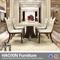 new design modern dining table dining room set modern home furniture for sale in low price