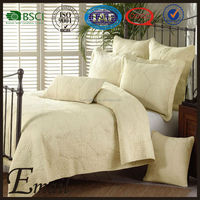 Used king size fitted hotel style bedspreads/bedspread set