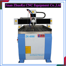 2D/3D Small Metal CNC Router Metal CNC Engraving Machine With Tools Cooling System Mach3 Control 600*900MM ZK6090-1.5Kw