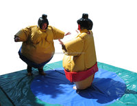 China manufacture foam padded inflatable sumo wrestling suits for sale M6004