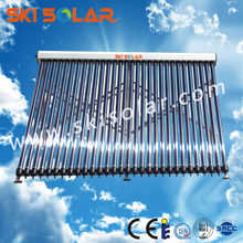 evacuated tubes selective coating solar collector