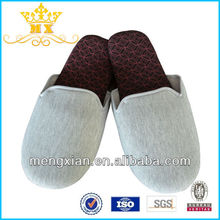 professional cotton fabric airline travel slippers