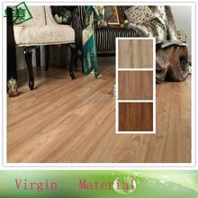 Water Resistent PVC Dark Oak Wood Plank Flooring