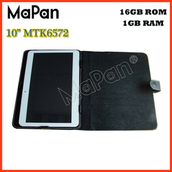MTK6572 quad core MaPan android 4.4 tablet android 10 / CE FCC 1gb 16gb android phone 10 inch 3g tablet pc