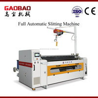 Full Automatic Adhesive Plastic Slitting Machine Factory Safe And Reliable High Speed High Performance