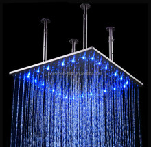 24inch ranifall LED shower head,top shower