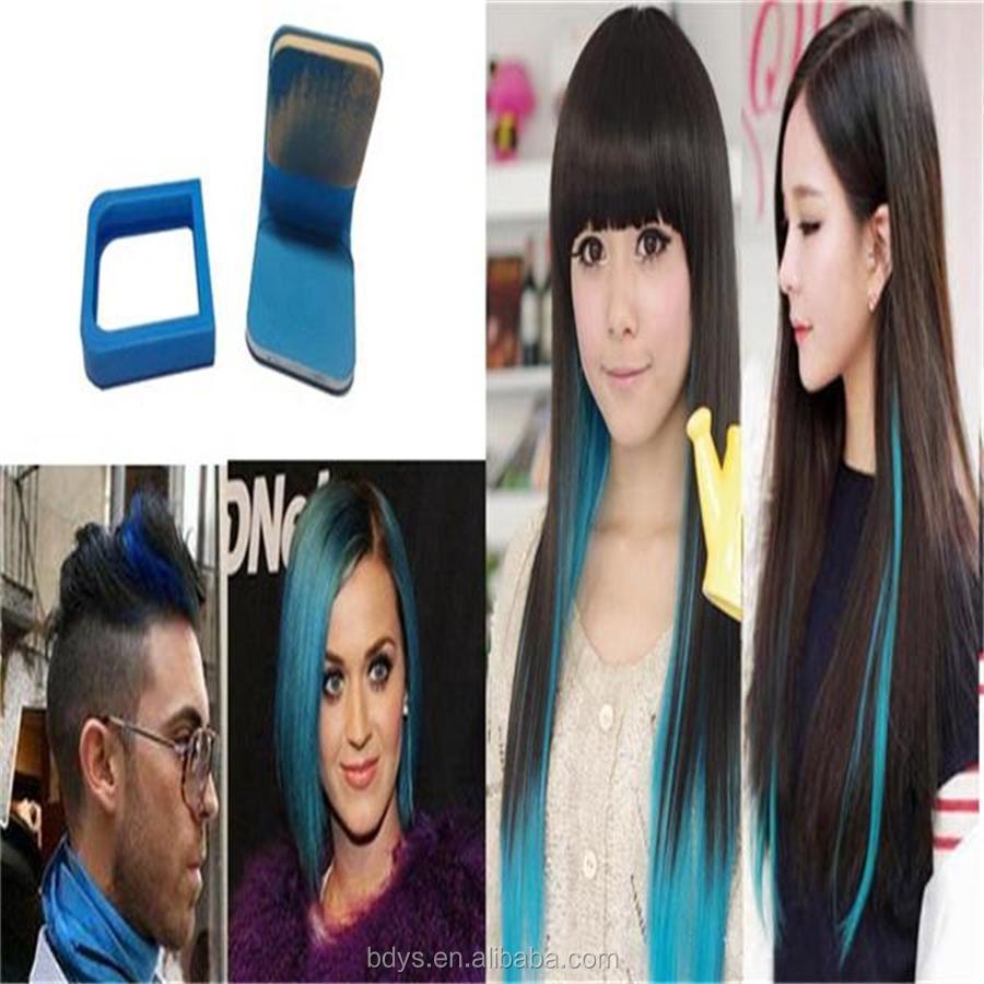 Cream Form And Permanentnon Allergic Permanent Blue Hair Dye Type Semir Rambut Hi Top Hairchalk