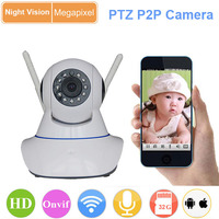 mini home use surveillace support wireless alarm free p2p wifi ip camera