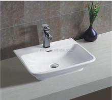YJ9158 table top basin bathroom sink,china wash hand basin,ceramic art basin