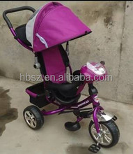 2015 hot sale SenZe brand purple new model baby tricycle \babys bicycle