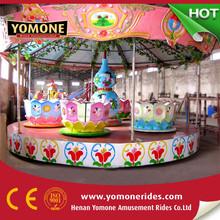 Beautiful amusement park rides coffee cup kids amusement rides for sale