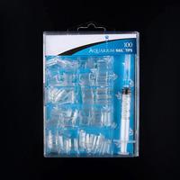 Artificial Finger Nail Tips acrylic nails Arts design/aquarium nail tips/water nail tips