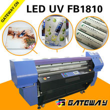 Commercial photo printer, large UV flatbed 3d printer for visiting card, 3d metal printing machine