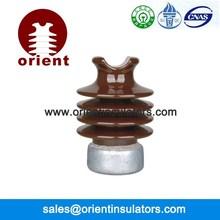 ANSI 57-1 line post electrical porcelain insulator