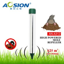 Aosion vibrate mole repeller with 4* D batteries