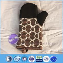 kitchen accessories designer fabric design kitchen heat resistant microwave silicone oven mitt