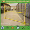 Round Tube Galvanized Construction Temporary Fence