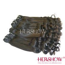 2014Hershow brazilian hair weave bundles aliexpress hair brazilian human hair