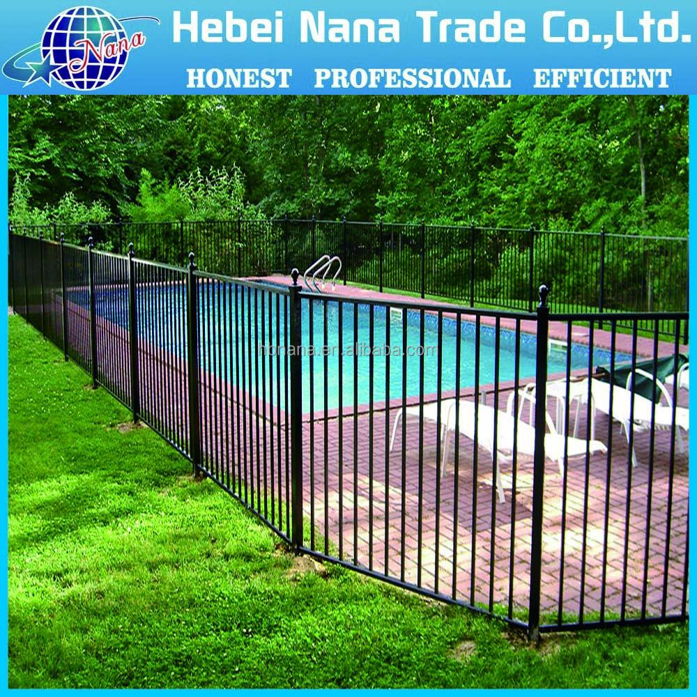 Euro garden metal fence cheap fance