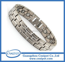3000 gauss sports magnetic titanium bracelet with 4 in 1