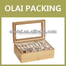 2013 Custom Watch Boxes For Men,Oak Wood Watch Case