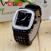 """Free Shipping N9 GSM Watch Phone 1.3MP Camera,1.3""""Touch LCD WITH Bluetooth,Audio/Video Record"""
