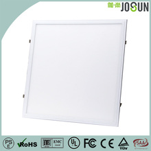High lumen white & silver led panel light fixture 40w square office led panel light 595x595 mm with 5 years warranty