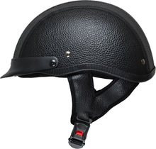 classic leather helmet motorcycle