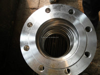 OEM factory services Stainless Steel plate flange with neck ANSI AMSE ASTM AISI 304/316 316L