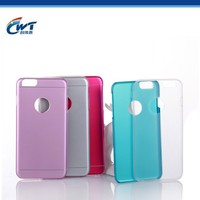 cwt good supplier fancy wholesale from mold factory OEM two in one sublimation phone cases for iphone 6