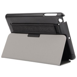 Elastic Strap Included Toothpick Texture Flip Tablet Cover for iPad Mini 3