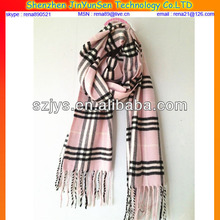 100% Cashmere Scarf In Stocking