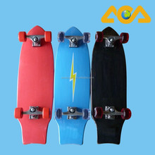 Pro Skateboard Complete with PU wheels and Aluminum Trucks