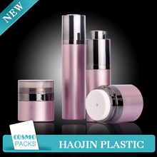 Plastic Material and Screw Cap Sealing Type acrylic lotion bottle with lid