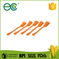 Biodegradable and disposable plastic cutlery