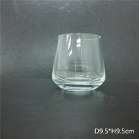 Man made brightly clear Lead free Crystal Wine glass for bars/ hotels/ resterant