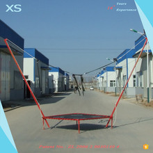 outdoor extreme game mini trampoline basketball hoop