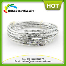 HR soft and light diamond cut aluminum wire for jewelry making
