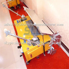 Good running model 2015 new style cement plastering machine for wall/automatic rendering machine