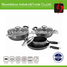 Convenient and easy storage aluminium eco friendly cookware