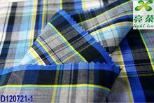 quick delivery:Jiangsu shirting yarn dyed cotton plaid fabric