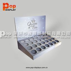 hot style custom printed counter packing boxes display