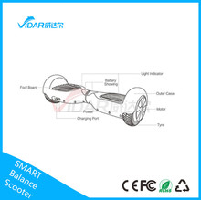 Smart Balance scooter 150cc gas scooter motorcycle style zero comsuption