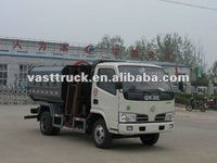 6 cube DongFeng DLK garbage truck with lifting