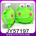 Calentamiento mayorista cabeza rana suave arriba el juguete de 10 pulgadas peluche para los niños