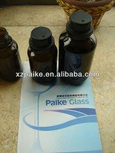 250ml botella de vidrio ámbar para tintura de yodo